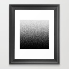 Triangles, Seed 37, Gradient 0.1 Framed Art Print