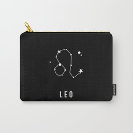 Leo Zodiac Sign Quote Carry-All Pouch