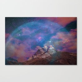 The Bubble in Space Canvas Print