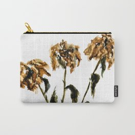 Three dried peonies Carry-All Pouch