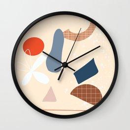 Pretty Mess Wall Clock