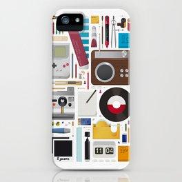 Stuff (white background) iPhone Case