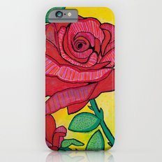 yellow rose Slim Case iPhone 6s