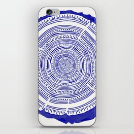 Douglas Fir – Navy iPhone Skin