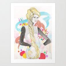 Angie Art Print