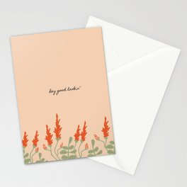 Hey Good Lookin' Stationery Cards