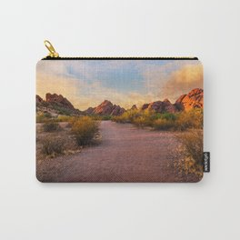 Sunset at Papago Park in Phoenix Arizona Carry-All Pouch
