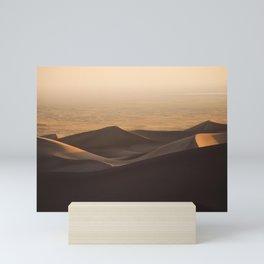 Dunes at Sunset Mini Art Print