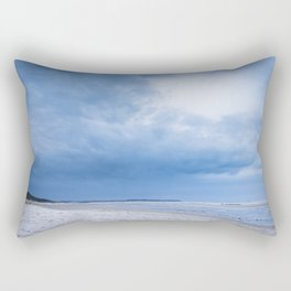 The Sky above the Channel Rectangular Pillow
