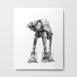 At-At Walker Metal Print