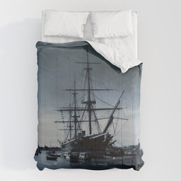 Ship The Warrior HMS 1860 Comforters
