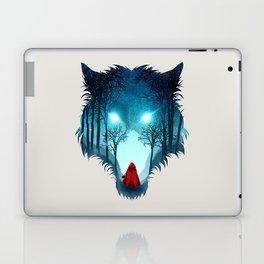 Big Bad Wolf (light version) Laptop & iPad Skin