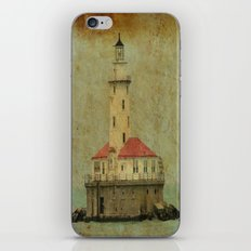 Old and wise light iPhone & iPod Skin