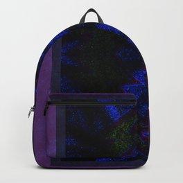 Sparkly lightning bolt - dark Backpack