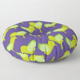 pajaros! Floor Pillow