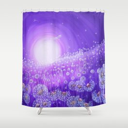 Sea of wishes Shower Curtain