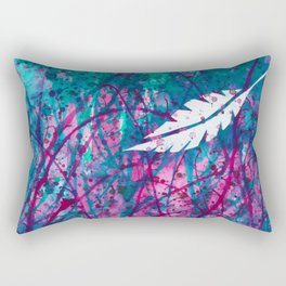 Floating Feather Rectangular Pillow