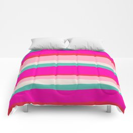 Candy Stripe Christmas Comforters
