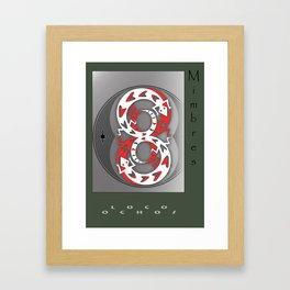Loco Ochos Framed Art Print