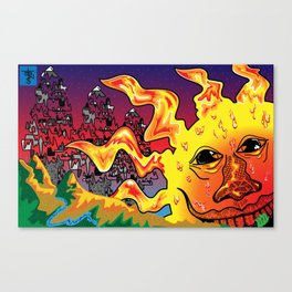Receive a Smile from the Sun Canvas Print