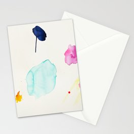 Immeasurable Joy - abstract painting by Jen Sievers Stationery Cards