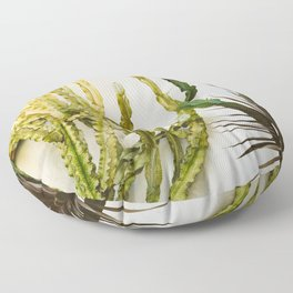 California Cactus Garden Floor Pillow