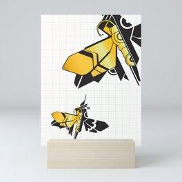 Robotic Fly Mini Art Print