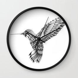 Ornate Colibri Wall Clock
