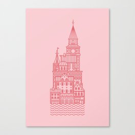 Copenhagen (Cities series) Canvas Print