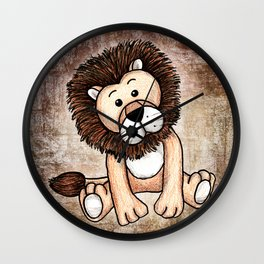 Lulu the Lion Wall Clock