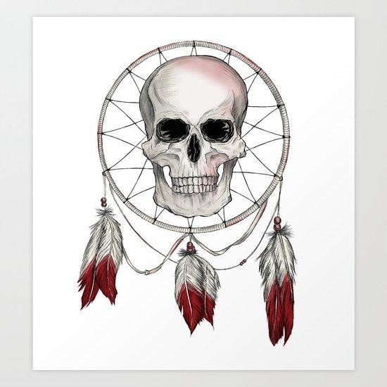 Skullcatcher Art Print