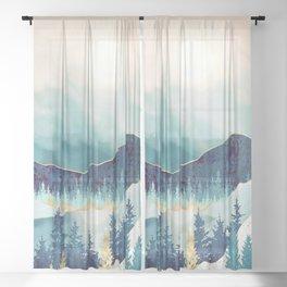 Sky Reflection Sheer Curtain