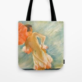 """""""At the beach"""" by J Fenneker from Jugend magazine, 1929, issue 32 Tote Bag"""