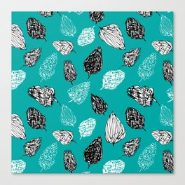 Scribble pattern Canvas Print