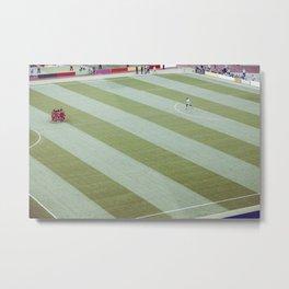 Football match in Nuremberg Germany Metal Print