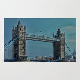 The Tower Bridge in London Rug