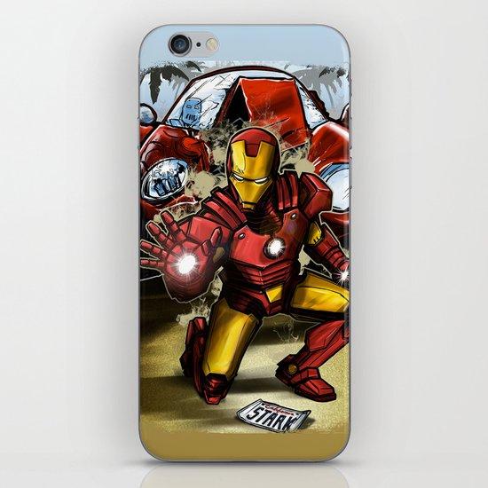 Man of Iron iPhone & iPod Skin