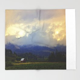 Hood River - Season Of Beauty Throw Blanket