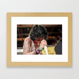 Kellin Quinn   Sleeping With Sirens Framed Art Print