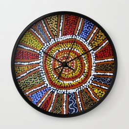 WELCOME TO COUNTRY Wall Clock