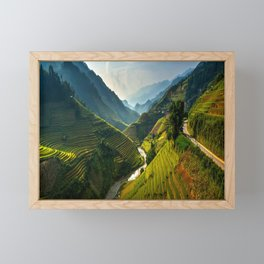Mu Chang Chai, Vietnam Framed Mini Art Print