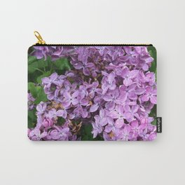 Rainy Day Lilacs Carry-All Pouch
