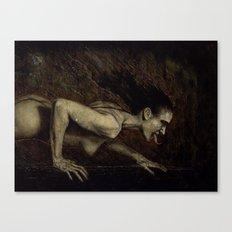 Reptile (Precious Whore) Canvas Print
