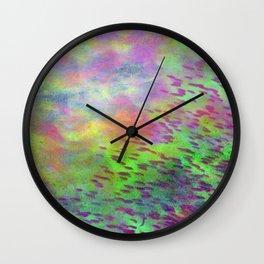 Caribbean Shoal Wall Clock