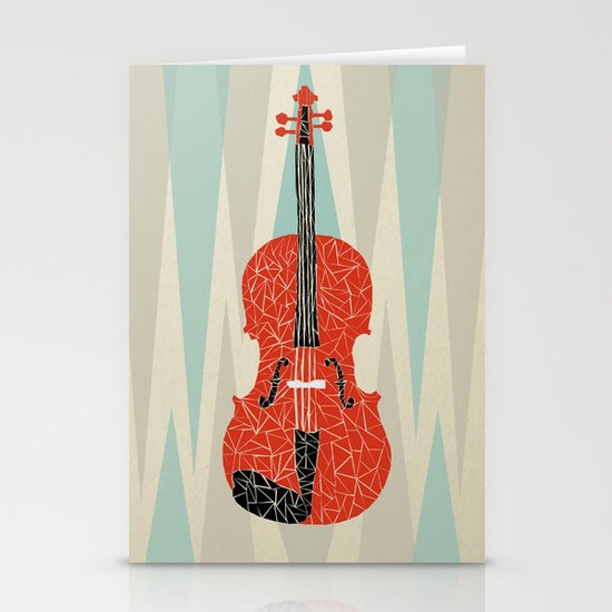 The Red Violin Stationery Cards