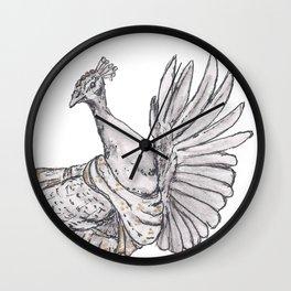 Tiny Dancer - Bollywood Peacock Wall Clock