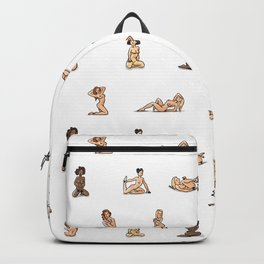 Figure Drawing Nudes Backpack