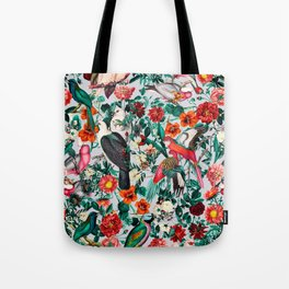 FLORAL AND BIRDS XIV Tote Bag