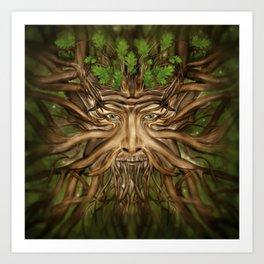 The Green Man - Spring Art Print