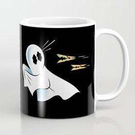 A Fearful Phantom (Black) Coffee Mug
